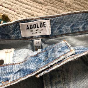 Agolde Shorts - Agolde Jaden Jean Denim Short in Surreal